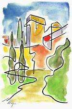 Artisteri / Llop - Tarragona muralla - litografia 30x21 edición limitada