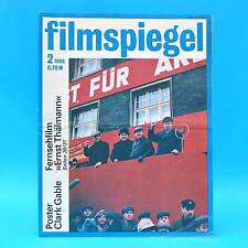 DDR Filmspiegel 2/1986 NVA-Filmstudio Clark Gable Richard Chamberlain Schell E