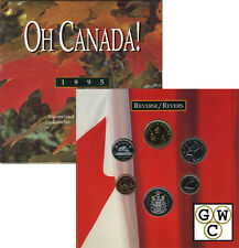 1995 Oh! Canada Set of 6 coins (11555)