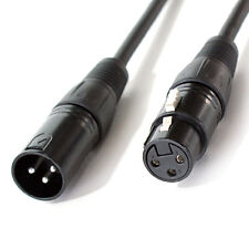 2m - 3 Pin Xlr Macho a Hembra Dmx Cable de iluminación – DJ CONCIERTO LED Señal