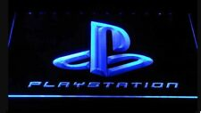 PlayStation PS2 PS4 LED Neon Bar Sign Home Light up PS3 mancave game room arcade