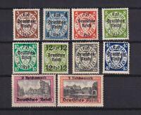 GERMANY 1939, Mi#716-729, CV€59, MH/MNH