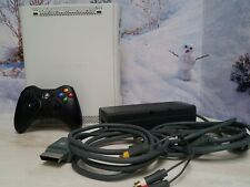Microsoft Xbox 360 20GB HDMI White Console~ Controller ~ Power Supply Pack cords