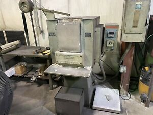 Sentry Electric Furnace  Heat Treating Oven Under Power
