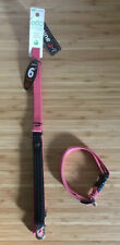 Lupinepet Coral 6ft Dog Lead And Collar Made From Recycled Water Bottles. BNWT