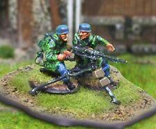 THE COLLECTORS SHOWCASE WW2 GERMAN FALLSCHIRMJAGER CBG005 MG42 TEAM MIB