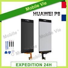 VITRE TACTILE + ECRAN LCD ORIGINAL POUR HUAWEI P8 NOIR + FILM