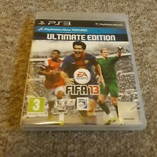 Clear out Fifa13 Ultimate Edition Sony PS3 game EA Sports