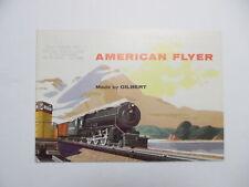 1955 American Flyer Trains A.C. Gilbert Catalog Official Train Vintage Original