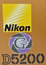 Nikon D5200 digitale SLR - Gehäuse - 16598 Klicks - 12 Monate Gewährleistung