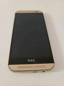 HTC 6525 One M8 Verizon 4G 32 GB Android Smartphone Gold - Great