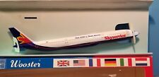WOOSTER (W595) SKYSERVICE A330 1:250 SCALE PLASTIC SNAPFIT MODEL