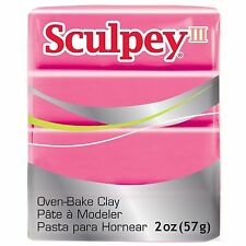 SCULPEY III - Polymer Clay - 57g - CANDY PINK