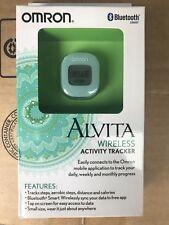 1X - Omron Hj-327T Alvita Wireless Activity Tracker Bluetooth Smart New!
