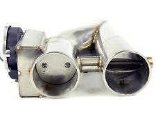 """Acciaio Inox Valvole di Scarico Doppio 2-ROHR- Bypass/Elettrico/63mm/2,5 """""""