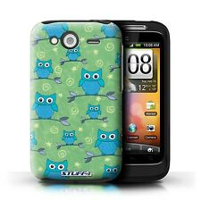 Stuff 4 Case/Case/Back Cover for HTC Wildfire s/g13/Owl Pattern