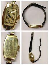 Orologio da polso 585er oro carica manuale Pelle in