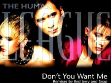 """12"""" - The Human League - Don't You Want Me (RMXS '95) NUEVO - NEW, STOCK STORE"""