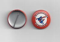 """1970's Baltimore Orioles button pin back vintage 1"""" original"""