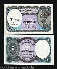 Egypt 5 Piastres P188 1998 Bundle Queen Nefertiti Unc Currency Pack 100 Banknote
