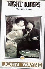 NIGHT RIDERS (1939) VHS Center Video  Cult  John WAYNE