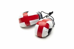 ENGLAND MINIATURE BOXING GLOVES (PAIR) WORLD CUP 2018