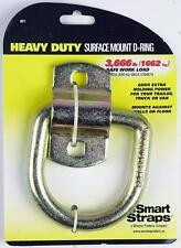 Smart Straps Heavy Duty Surface Mount D-Ring Trailer Cargo Load - 3666 lb.