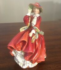 """Royal Doulton """"Top O' The Hill"""" Figure Hn1834 ( Red ) Book Price $410"""