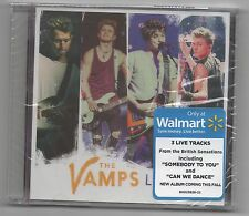 The Vamps 2015 CD Limited Edition Walmart Exclusive Live EP Somebody To you