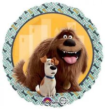 45cm SECRET LIFE OF PETS BALLOONS Toys BIRTHDAY PARTY SUPPLIES Duke & Max