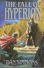 DAN SIMMONS FALL OF HYPERION HCDJ 1ST ED 1990 NEW WITH ERRATA SHEET 305 RARE OOP