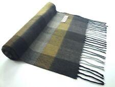 Pure Cashmere Handmade Mens Scarf NWT