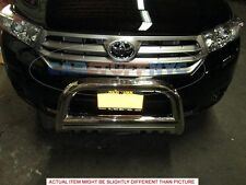 11-2013 Toyota Highlander Stainless Bull Bar Front Protection Grille Guard Skid