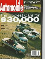 Automobile Magazine The coolest cars for 30,000 Very Good Condition