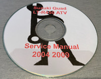 2004-2009 Suzuki L-R450  SERVICE REPAIR MANUAL on CD Free Shipping