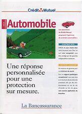 FLOC'H. L'Automobile. Livret publicitaire Crédit Mutuel 1997