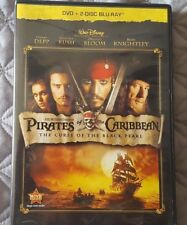 Pirates of the Caribbean: The Curse of the Black Pearl (Blu-ray/DVD, 2011, 3-Dis
