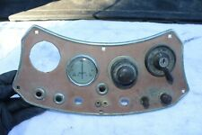 MGTD MG TD Original center gauge console with amp ignition switch and extras