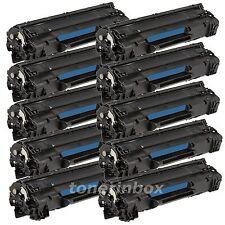 10PK ST-283A Black Toner For HP CF283A 83A LaserJet Pro MFP M127fn M127fw M125nw
