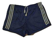 Adidas ventex short shiny glanz nylon vintage anni 80 blue running pantaloncino
