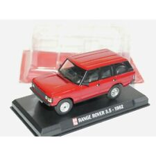 RANGE ROVER 3.5 1982 Rouge AUTO PLUS 1:43