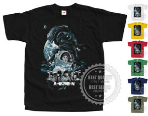 ALIEN V1 horror T SHIRT Movie Poster colors Black All Sizes S to 5XL