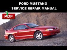service repair manuals for 1996 ford mustang ebay rh ebay com 1996 mustang cobra repair manual 1998 Mustang