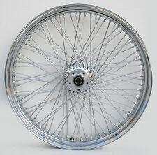 "Ultima Billet Hub 80 Spoke DD 26"" x 3.50"" Front Wheel for 2000 & Later Harley"