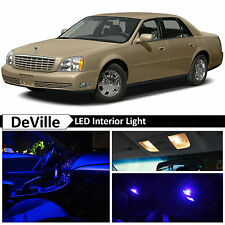 16x Blue LED Lights Interior Package Kit for 2000-2005 Cadillac DeVille