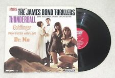 MORE THEMES FROM THE JAMES BOND THRILLERS  Roland Shaw Orchestra - London - LP