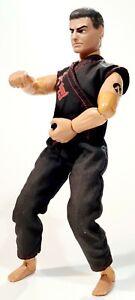 "©1997 Hasbro ACTION MAN 12"" Toyfigure POWER ARM NINJA KungFu/Martial Arts/Karate"