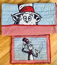 Pottery Barn Kids Dr. Seuss quilt comforter twin sham