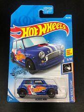 Hot Wheels 2019 Morris Mini Blue HW Racing Team Euro New VHTF Car P Case