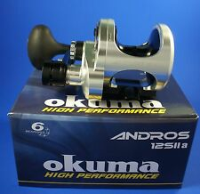 Okuma Andros A-12SIIa 2 Speed Multiplier Sea Fishing Reel 49089 (Right Hand)